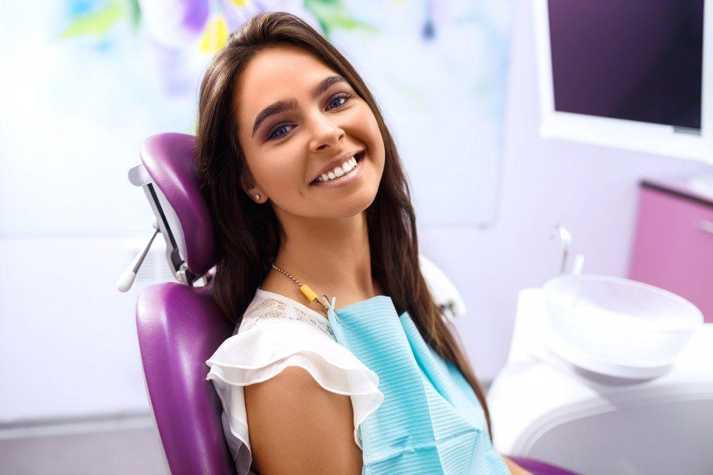 a happy patient