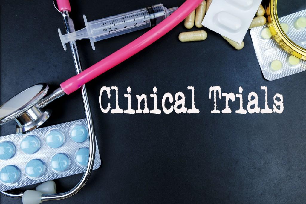 clinical trials medical concept